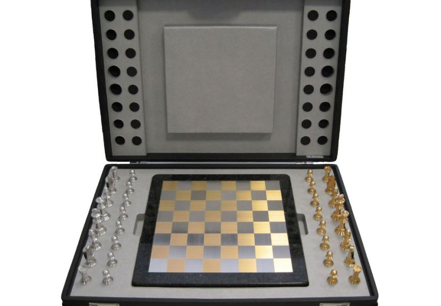 A luxury game of chess from Veridor, refined by Lieb Manufaktur